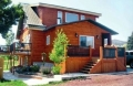 отделка фасадов загородных домов