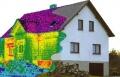 Определение мест утечки тепла при помощи тепловизора